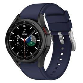 Silikonband Samsung Galaxy Watch 4 Classic (42/46mm) - Dunkelblau