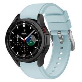 Silikonband Samsung Galaxy Watch 4 (40/44mm) - Hellblau