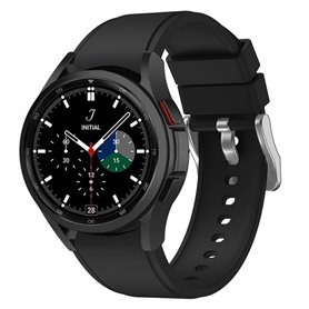 Silikonband Samsung Galaxy Watch 4 Classic (42/46mm) - Schwarz