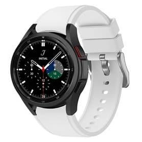 Sport armbånd till Samsung Galaxy Watch 4 Classic (42/46mm) - Hvit
