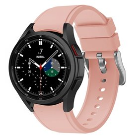 Sport armbånd till Samsung Galaxy Watch 4 Classic (42/46mm) - Lyserosa