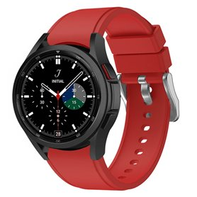 Silikonband Samsung Galaxy Watch 4 Classic (42/46mm) - Rot