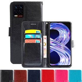 Lommebokdeksel 3-kort Realme 8 Pro
