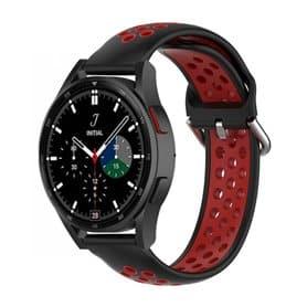 EBN Sport Armband Samsung Galaxy Watch 4 Classic 42mm - Schwarz/Rot