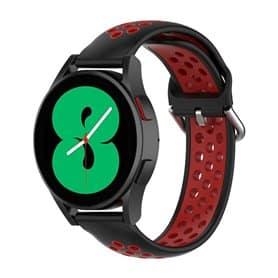 EBN Sport Armband Samsung Galaxy Watch 4 44mm -Schwarz/Rot
