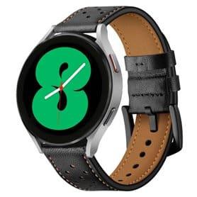 Armband Leder Samsung Galaxy Watch 4 (44mm) - Schwarz