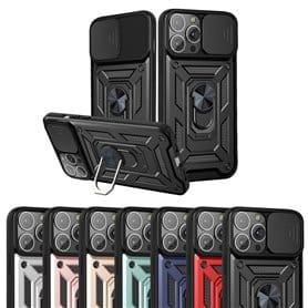 Push Window Stand Case Apple iPhone 13 Pro