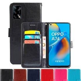 Lommebokdeksel 3-kort Oppo A74 4G