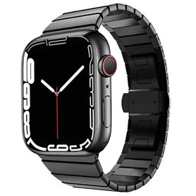 Armband RSF Butterfly Apple Watch 7 (45mm) - Black