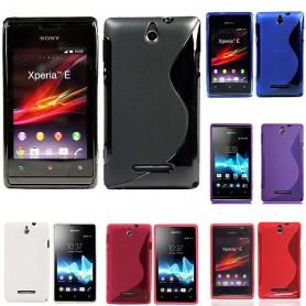 S Line -silikonin tulee olla Sony Xperia E