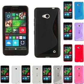 S Line silikonskall MS Lumia 640