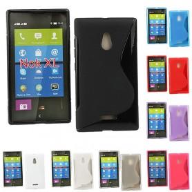 S Line silikonetui til Nokia XL