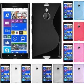 S Line -silikonikotelo Nokia Lumia 1520 -puhelimelle