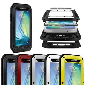 LOVE MEI Powerful Samsung Galaxy A7 2015 mobilskal skydd metall