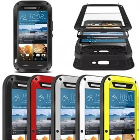 LOVE MEI Powerful HTC ONE M9 mobilskal metall