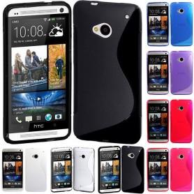 S Line silikonetui til HTC One M7