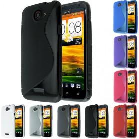 S Line silikon skal HTC One X