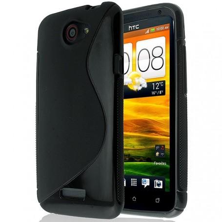 S Line silikonetui til HTC One X