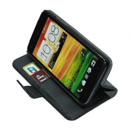 Lommebokdeksel 2-kort HTC Butterfly J (HTV31)