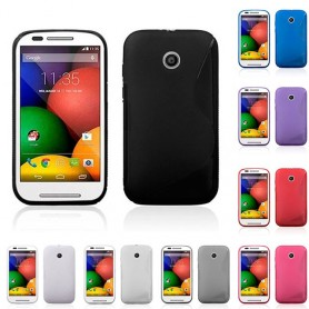 S Line silikon skal Motorola Moto E