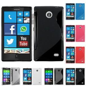 S Line silikon skal Nokia X / X+