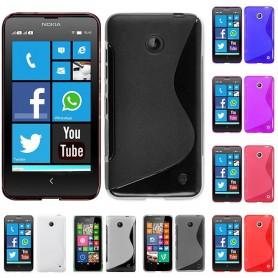 S Line -silikonikotelo Nokia 630/635 -puhelimelle
