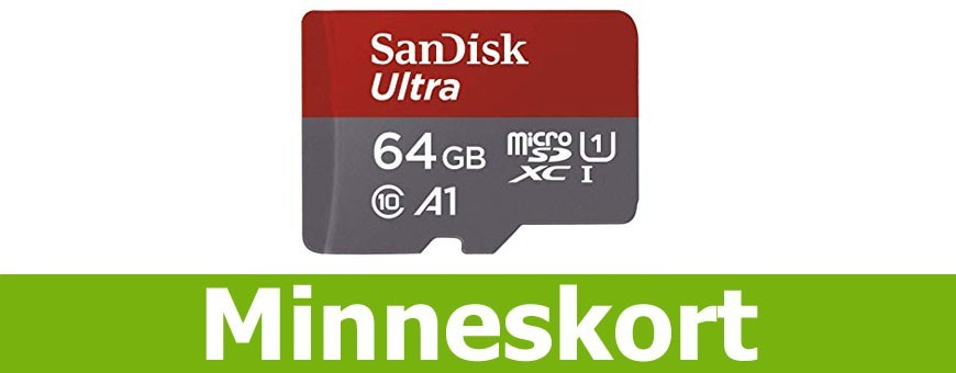 Köp billiga minneskort USB Micro SD hos CaseOnline.se