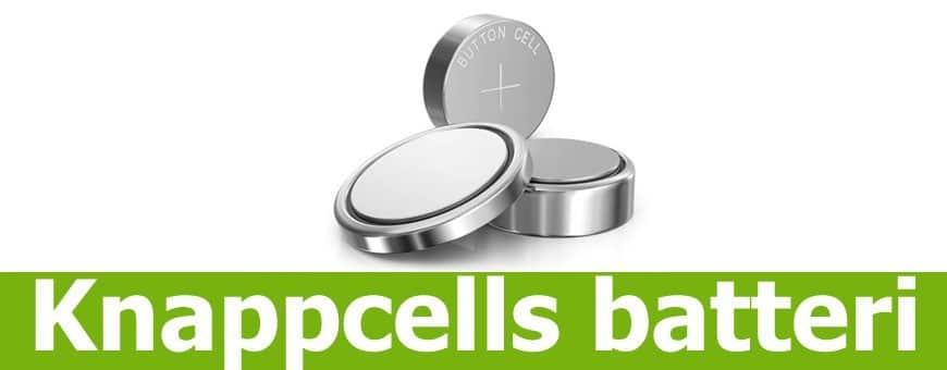 Køb knapcellebatterier hos CaseOnline.se, vi har de fleste modeller
