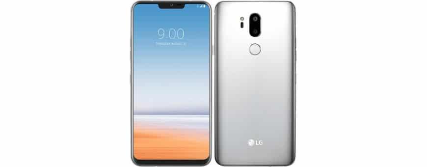Køb mobil dækning, etui og dækning til LG G7 ThinQhos CaseOnline.se