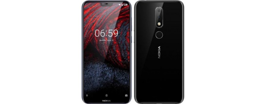 Buy mobile cover and cover for Nokia 6.1 Plu (TA-1083) at CaseOnline.se